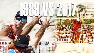 World Cup 1989 VS 2017 • Beach Volleyball World