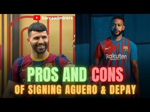 Download Barcelona News:🔥⚡PROS & CONS OF MEMPHIS DEPAY & SERGIO AGUERO SIGNING || Barcelona Transfer News