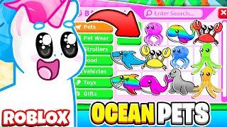 FINALLY *OCEAN PETS* ARE HERE! LEGENDARY OCEAN PETS! BUYING EVERY OCEAN PET! Roblox