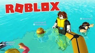 ROBLOX: SINKING SHIP - Now Our Life Raft is Sinking =/ [Xbox One Gameplay, Walkthrough]