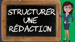 Expression 4 – structurer une rédaction (introduction, développement, conclusion)