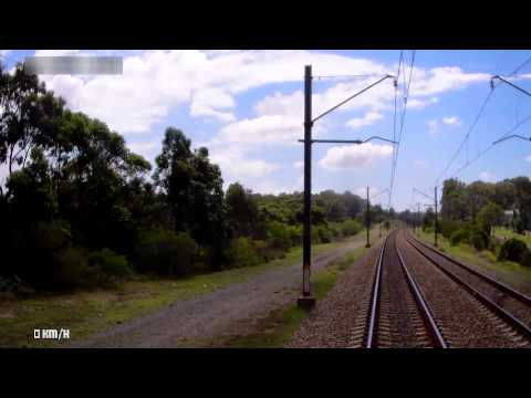 Sydney Central Station to Newcastle Station in under 20 minutes