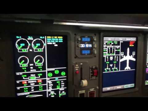 EMB175 Cockpit Tour Part 7: EICAS Messages and the ORH