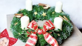 DIY Advent wreath | CHRISTMAS WITH ANY