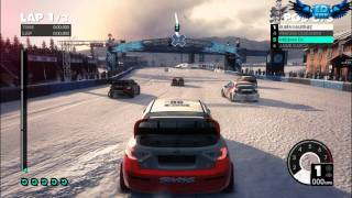 Dirt 3 PC Gameplay Part 2 : I love Snow ! Ultra High Settings GTX460 HD
