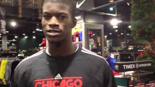 Quality time with Chicago Bulls rookie Jimmy Butler