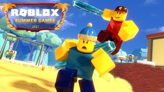 THE ROBLOX SUMMER GAMES! (Episode 1)