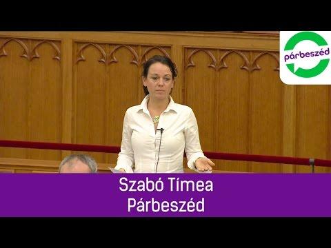Szabó Tímea parlamenti felszólalása 2016.11.23