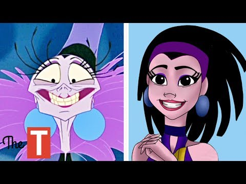 10 Disney Villains Reimagined As TEENAGERS