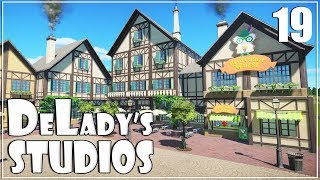 🎬 Bavarian German Village | World's Fair Pack DLC | DeLady's Studios | Planet Coaster | Ep. 19 |