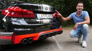 World's first Akrapovic BMW M5 F90!