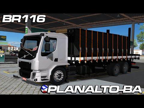 Movimentando a BR 116 nas proximidades de Planalto-BA. {Ets2Mods}