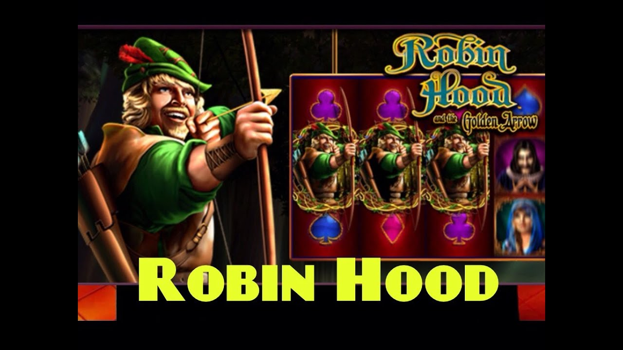 ROBIN HOOD and The Golden Arrow slot machine bonus wins (2 videos)