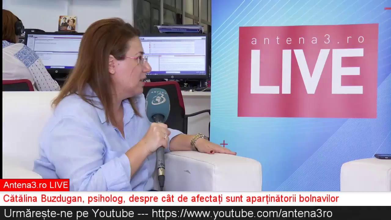 Antena3 ro LIVE cu Maria Coman - Traumele prin care trec