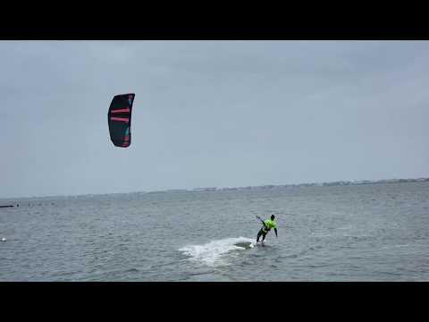 Go pro hero 6 kiteboarding test