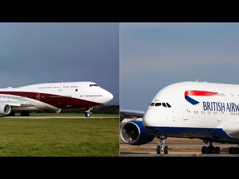 Airbus vs Boeing recognition (tips how to identify them) HD