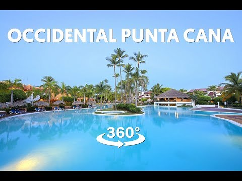 Occidental Punta Cana Resort in Virtual Reality - 360 Video