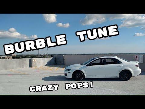 BURBLE TUNED MAZDASPEED6! CRAZY POPS!