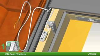 FAKRO | Montagevideo ARZ Z-Wave rolluik + FTP-V Z-Wave elektrisch tuimeldakraam