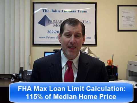 Maryland FHA Loan Limits 2015