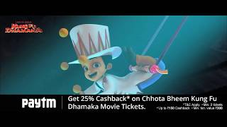 Chhota Bheem Kung Fu Dhamaka Tickets only on Paytm | Book Now