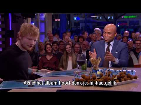 Ed Sheeran: ''I wrote 'Shape Of You' for Rihanna'' - Interview - RTL Late Night