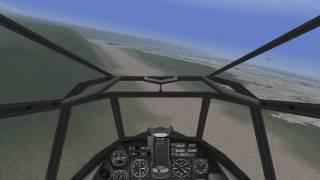 BF110C-4B Open field landing