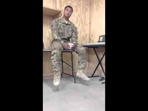 "Samoan Soldier Paul Ieti sings Rihanna ""STAY""- Must Watch"