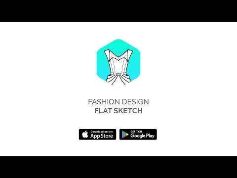 Fashion Design App: Design your clothes on your phone or tablet