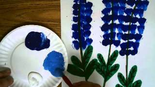 Blue Bonnet Painting project