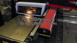 видео Изготовление автоматических входных дверей