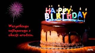 Sto Lat Polish Birthday Song Youtube