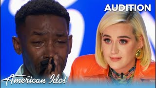 Formerly Incarcerated Calvin Shaw BREAKS DOWN on American Idol Has Katy Perry In TEARS!
