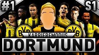 NORSK FIFA 17 | BORUSSIA DORTMUND KARRIEREMODUS!! #1