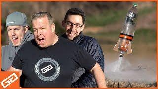 Soda Pop Bottle Rocket Competition