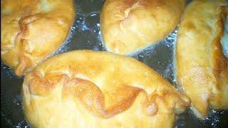 Жареные пирожки с картошкой        Тесто на пирожки.
