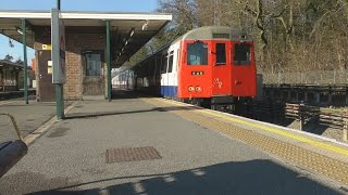 London Underground Metropolitan Line A (A60 A62) Stock Wembley Park to Amersham 23rd February 2012