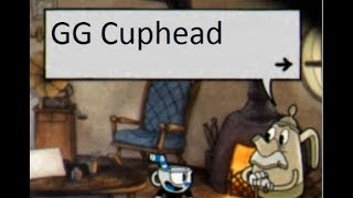 What does Elder Kettle say after you beat Cuphead?