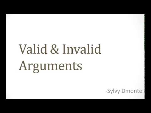 "the distinction between invalid valid and sound arguments 1 14 validity and soundness a deductive argument proves its conclusion only if it is both valid and sound validity: an argument is valid when, if all of it's premises were true, then the conclusion would also have to be true in other words, a ""valid"" argument is one where the conclusion necessarily follows from the premises."