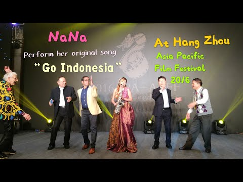 Go Indonesia by Nana Lee on APFF (Asia Pacific Film Festival) 2016, Hang Zhou - China