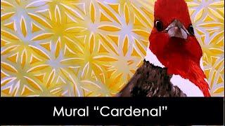 """Mural """"Cardenal"""" Pedro Vayu Gallinger"""