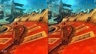 DmC Devil May Cry PC vs. PlayStation 3 Comparison Video