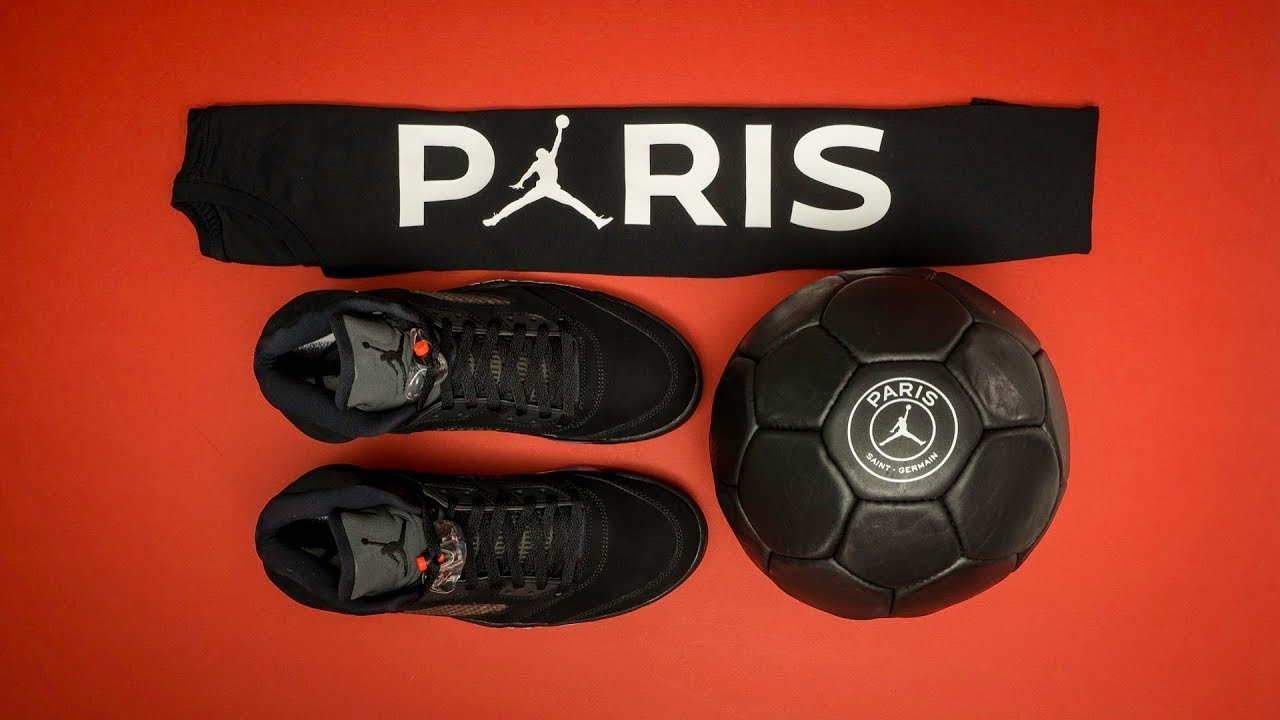 10c669e14323d9 UNBOXING  Limited Edition Air JORDAN x PARIS SAINT-GERMAIN Media Kit ...