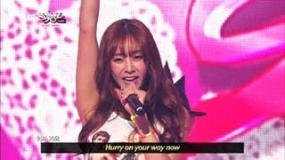 [Music Bank w/ Eng Lyrics] G.NA - Oops (Feat. L.Joe of Teen Top) (2013.04.20)