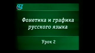 Русский язык. Урок 2. Русский алфавит как система. История букв русского алфавита