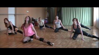 Стрип пластика. урок, движения на полу - разминка перед танцами