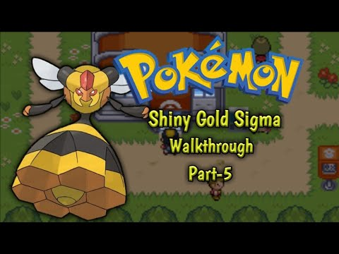 Pokemon Ultra Shiny Gold Sigma Walkthrough part 5 - YouTube