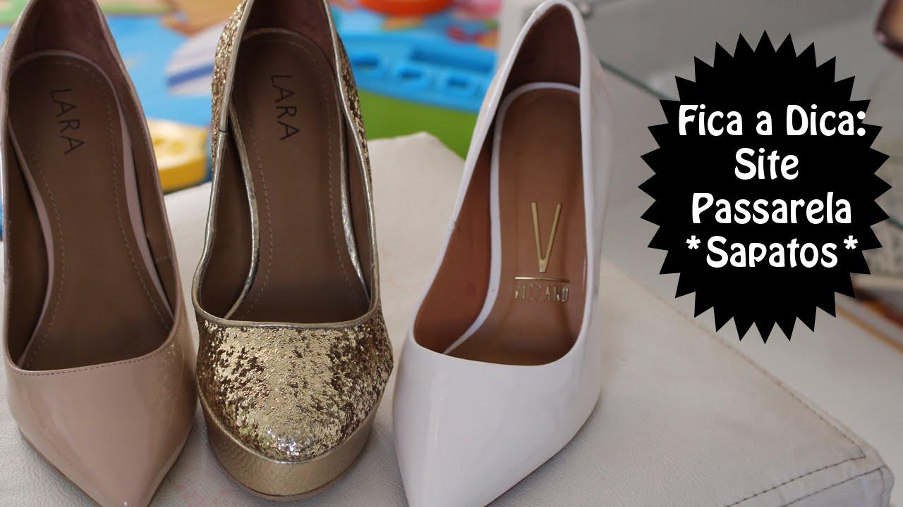 f22a293bb Site para compra de sapatos  Passarela - por Momento Dondoca - YouTube