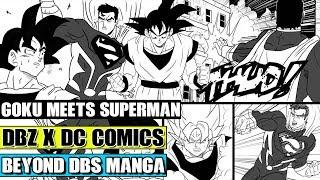 Beyond Dragon Ball Z: Superman Meets Goku! Goku Travels Into The DC Universe! Goku Vs Bizzaro
