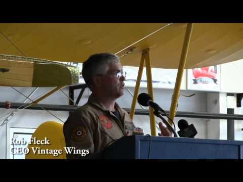 Historical Aircraft Museum Hanger Opens
